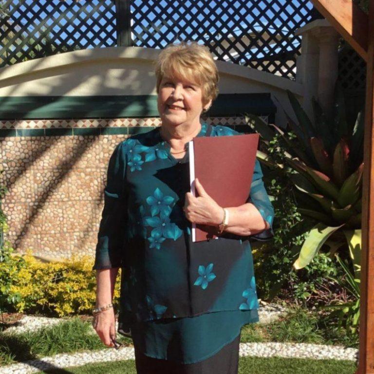 Joy Williams AFCC Registered Celebrant QLD